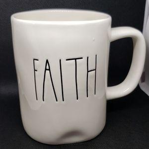Rae Dunn FAITH new mug